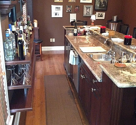 Custom Home Bars in New Jersey