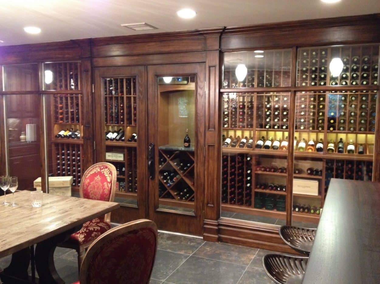 Wine Rooms & Cellars
