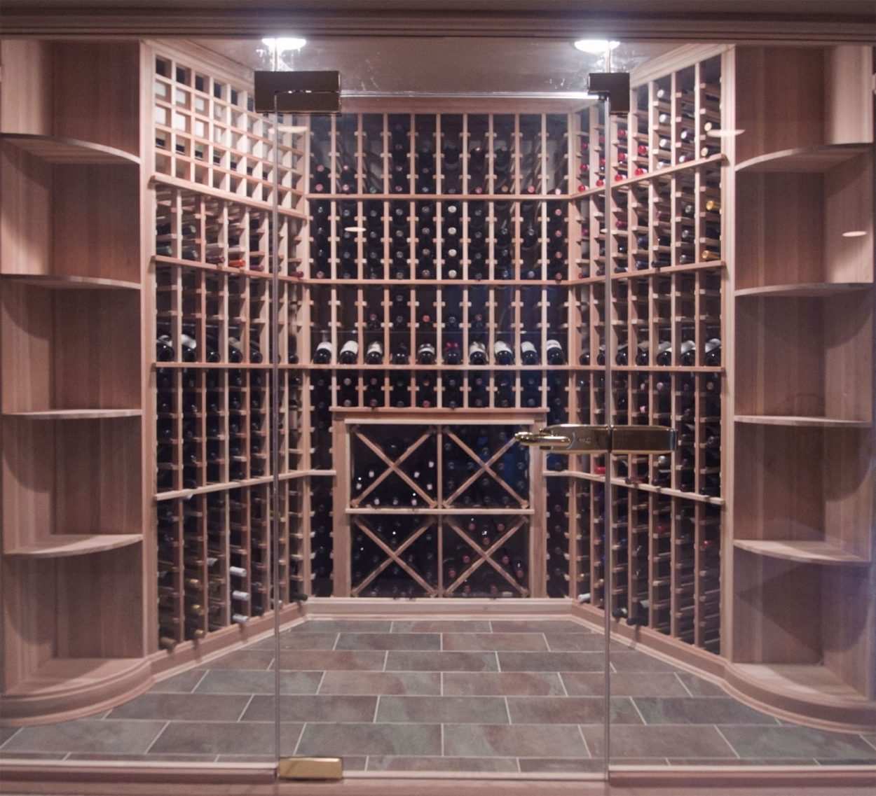 Clear View Wine Room