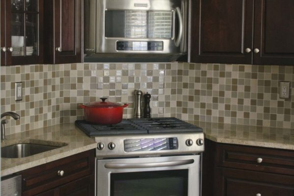 Corner Stove Kitchen