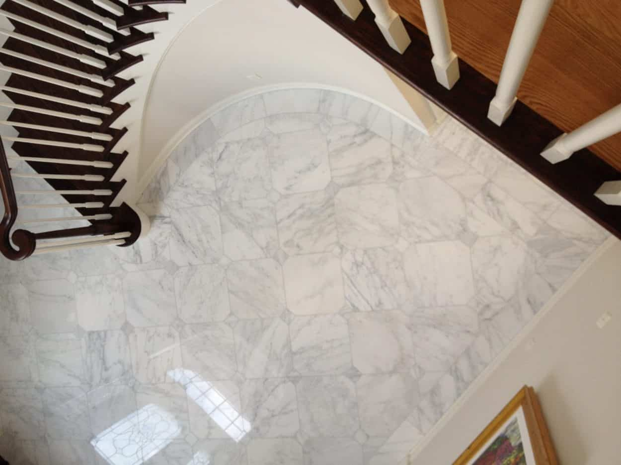 Foyer Flooring Nj : Marble foyer kinnelon nj kitchen remodeling contractors