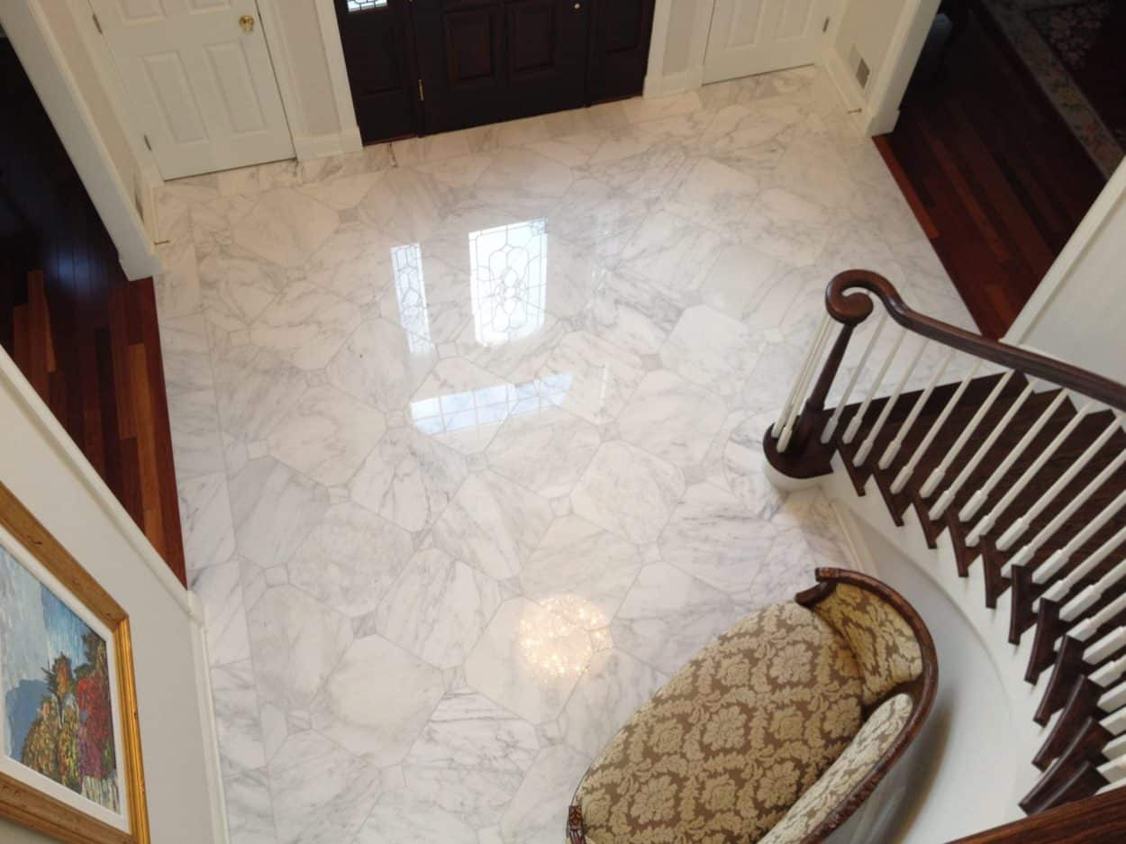 Foyer Tile Quotes : Marble foyer kinnelon nj kitchen remodeling contractors