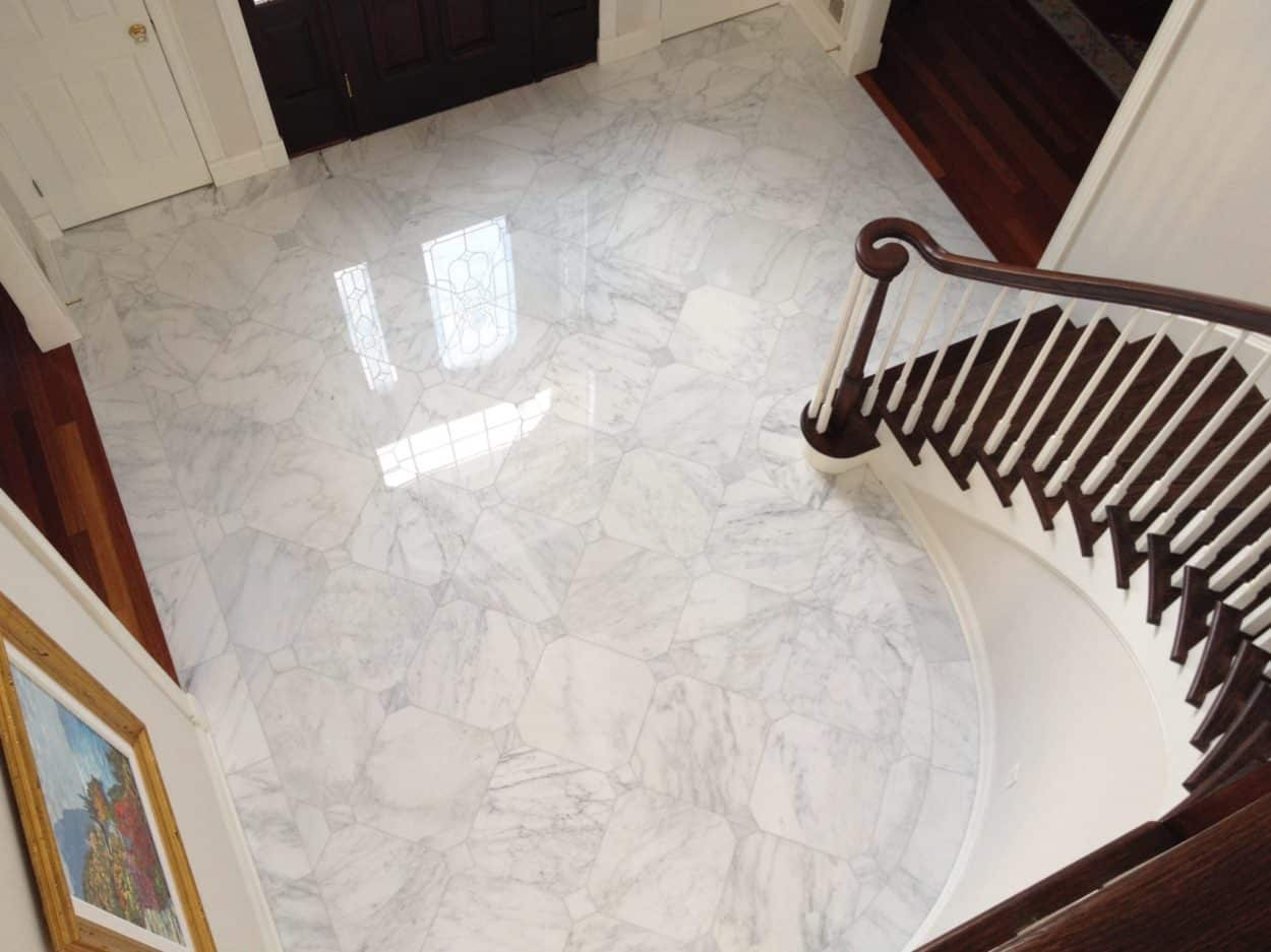 Foyer Flooring Nj : Marble foyer kinnelon nj kitchen remodeling contractors