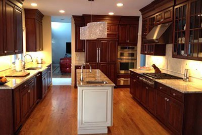 Traditional Cherry Kitchen NJ