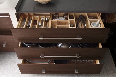 Custom Kitchen Cabinet Organizers in New Jersey