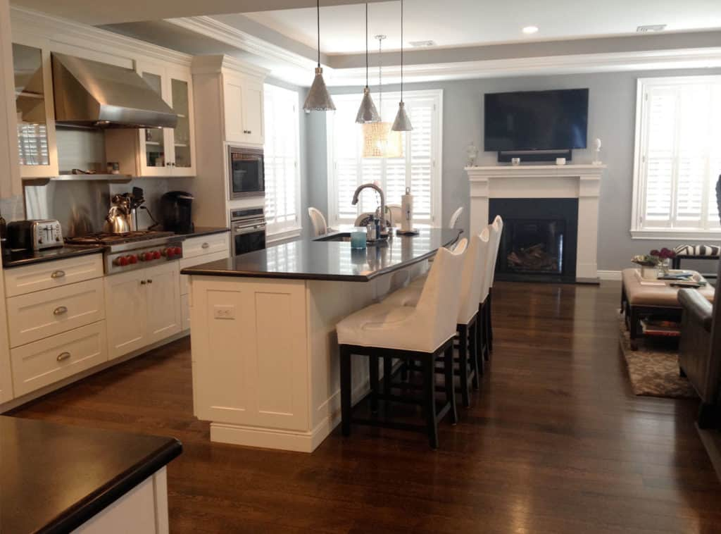 white kitchen cabinets Wyckoff NJ