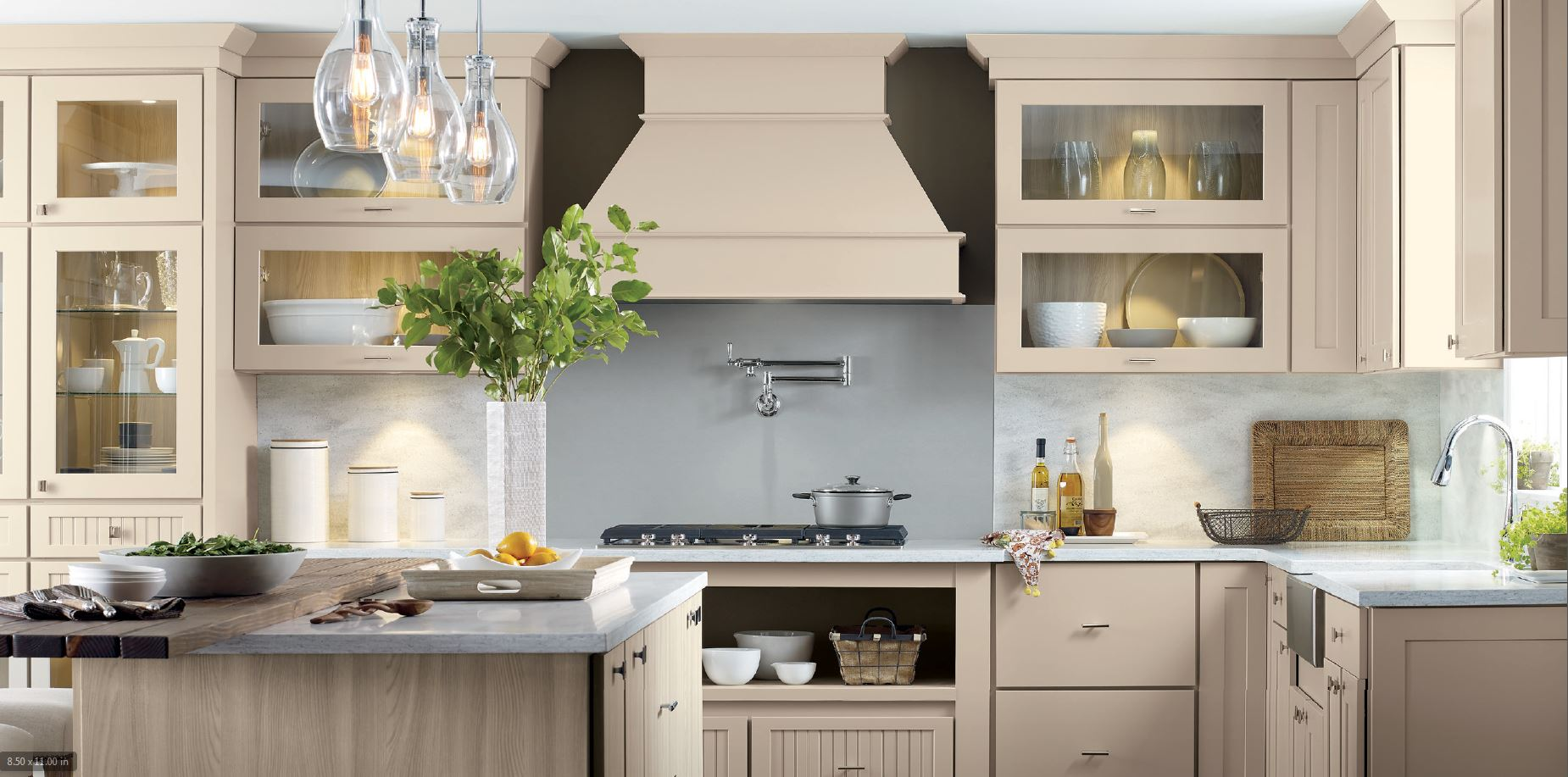 Two Tone Kitchen Cabinets | Kitchen With Island | NJ Kitchen ...