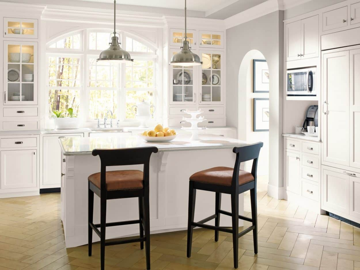 decora white kitchen cabinets inset prescott door - Kitchen Cabinets Nj